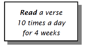 read 10x a day for 4 weeks 06.04.14