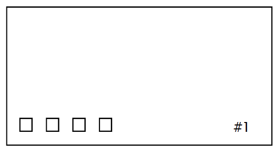 MemRead Card -- Back View